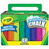 Crayola Washable Sidewalk Chalk PK 48