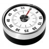 Oggi Vista SS 60 min Magnetic Kitchen Timer Black EA