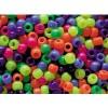 Neon Multi Mix Beads Bulk Pack  (PK1600)