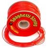 Spaghetti String Red 1mm x 60m PVC Tubing EA
