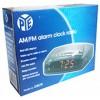 Pye AM/FM Alarm Clock Radio w Night Light EA