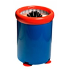 Beer Glass Brush Washer Blue Body w Suction Caps 150x200 EA