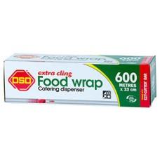 OSO Cling Food Wrap 600m x 33cm RL