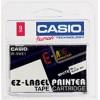 Casio Label Printer Tape XR9WE Black on White 9mm EA