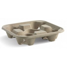 Bio Cup Carrier 4 Cup Tray Nat SL 75