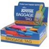 Kevron Luggage Tag Assorted PK 30