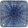 Gusta Sun Square Plate Blue 125x125mm PK 6