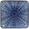 Gusta Sun Square Plate Blue 125x125mm EA