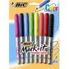 Bic Mark It Colour Collection 8 Assorted Colours BX 6