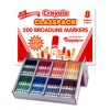 Crayola Classic Washable Marker Classpack 8 Colours 200s (PK 200)
