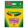 Crayola Coloured Pencils half Size Pk 12 (PK 12)