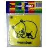 Kinder Rub Kangaroo Cockatoo Wombat Echidna (ST)