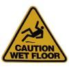Label  Caution Wet Floor (EA)