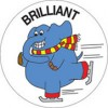 Merit Stickers Brilliant Skater PK 100