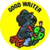 Merit Stickers Good Writer PK 100