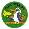 Merit Stickers Good Speaker PK 100