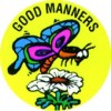 Merit Stickers Good Manners Pk 100 (PK 100)