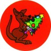 Merit Stickers Kangaroo Christmas Tree PK 100