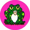 Merit Sticker Frog PK
