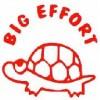 Deskmate Pre Ink Merit Stamps BIG EFFORT Red (EA)