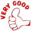 Deskmate Pre Ink Merit Stamps VERY GOOD Red (EA)