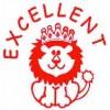 Deskmate Pre Ink Merit Stamps EXCELLENT Red (EA)