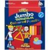 Texta Triangular Jumbo Colour Pencils PK 12