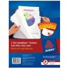 Avery Indexmaker Dividers A4 PP 5 Tab X-Wide (PK 5)